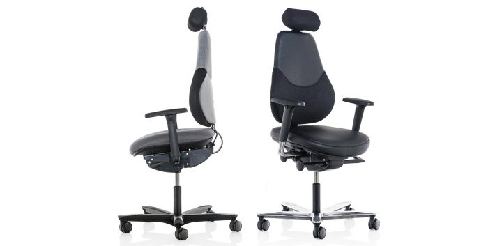 Office chairs with castors