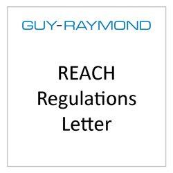 REACH Regulations Letter